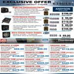 Power Supply Unit PSU Andyson N950M F500M F600M F550 F650 G530 Sapphire Graphic Card HD4350 Vapor X