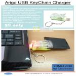 Arigo USB Key Chain Charger