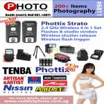 Red Dot Photo Phottix Strato Wireless Shutter Release Flash Trigger Tenba Nissin Porex Sun Sniper