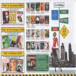 EmitAsia Magazine Discovery Reader Digest National Geography Popular Science HWM Simply Her B6552