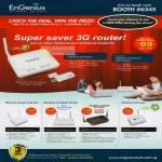 3G Router ESR 6650 EUB 9703 Wireless Range Extender Gigabit Stream Engine