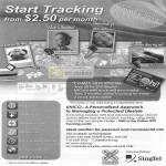 Unico GPS Locator SOS Alert SMS Singtel