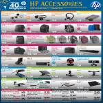 Accessories Headset Backback Case Dock Webcam Stand External Storage DVD Drive Adapter Charger Battery