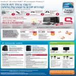 Compaq Presario Desktop CQ3370D CQ3380D MediaSmart Server LX197 EX490 LCD Monitors 2310mfa 2209t