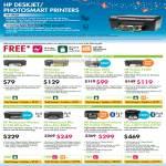 Deskjet Photosmart Printers D2660 D5560 2050 J510a F4480 All In One AIO B110a Wireless B209a C309g C410a Premium