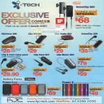 ITech VoiceClip MyVoice Clip ME304 Radio 602 308 Clip II Mini Naro 601 802 Battery Packs PowerApp X