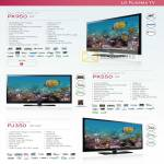 LG Full HD Plasma TV PK950 PK550 PJ350