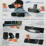 Leap Frog Sonic Gear Speakers SonicSpace DA 100i 150i 200i 220i 300i 500