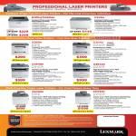 Lexmark Laser Printers E260d E260dn C540n Multi Function X203n X204n X264dn X364dn X543dn X544dn