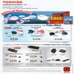 Toshiba Pala Chan USB Flash Drive Optical Mouse Mini