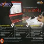 Axioo IntelliPen Wired Digitalpen Mouse USB Flash