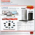 Toshiba Dynadock U V Universal USB Docking Station