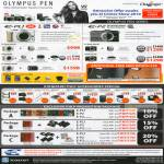 Olympus Pen E PL1 P2 Lens Kit Purchase With Purchase Deals