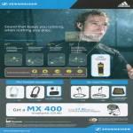 Sennheiser Adidas Sports Line MX 680 PMX OMX CX Mini Portable Headphones Ear Canal Phones