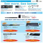 Blu Ray Speaker Bar Player BD C5500 C6900 C6500 C7500
