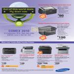 Laser Printers ML 1660 SCX 4600 Multi Function 2525 SF 650P 4623F FW 4824FN