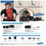 Mirrorless System Digital Cameras NX10 NX5