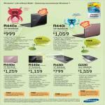 Samsung Notebooks R440e R440i Q330 R430i