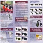Share Care ICare Vision 2020 3030 Sunglasses Digital Lux Meter UV Intensity Meter Lens Tester Card