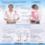 Share Care IZEST Personal Posture Vest Trainer