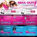 Audio Headphone Earphone MDF 410LP 710LP EX300SL E10LP NC300D MDR V500DJ XB500 AS50EX