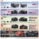 Digital Cameras DSLR Alpha NEX 5K A550 A390 A290 A850
