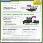 Broadband MaxOnline PremiumPlus HP G42 Notebook Kinect Xbox 360 ValuePlus Basic