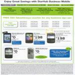 Business Mobile Takashimaya Voucher Phones Motorola Milestone XT HTC Desire Blackberry Nokia E5 E52 Navi Pack
