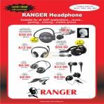 System Tech Ranger Headphone 380 988 Bluetooth Wireless 180