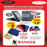 System Tech Ranger Protective Sleeve Case Tablet Netbook Notebook External Storage
