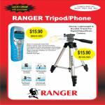 System Tech Ranger Tripod Phone