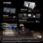 IWAVE ISLIM NX 4CD IPod IPhone