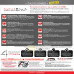 EasyGuard Specifications SSD Fingerprint Reader ConfigFree LifeSpace