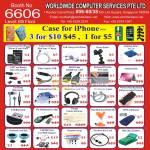 Worldwide Computer Accessories USB Video Capture Skin Screen Guard Cool Pad Keyboard Cool Ball Bluetooth