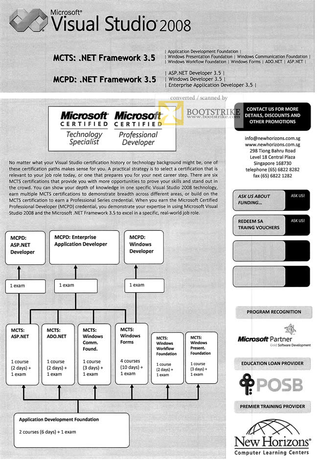 New Horizon Training Microsoft Certified Technology Specialist