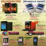 Sony Ericsson Smartphones Mix Walkman Spiro Yendo W8 Zylo G700 Cedar5