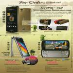 Sony Ericsson Xperia Ray Smartphone Android Mobile Bravia Xperia Arc Xperia Play