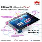 Huawei MediaPad Tablet Android Honeycomb Features