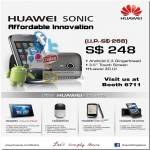Huawei Sonic Android Gingerbread 3D Smartphone