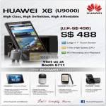 Huawei X6 U9000 Smartphone