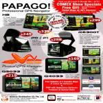 Papago GPS H8 P0 P1 R6300T WayWay Q5033 Q4033