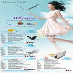 Notebooks U Series U36JC U31SD U41SV U46SV