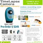 TimeLapse Video Camera TLC100