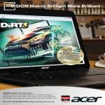 AMD Vision Notebooks Free DIRT 3 Game