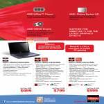 Notebooks AMD Aspire AS4250 E402G50Mn 5560G 6344G50Mn 4560G 8354G75Mn