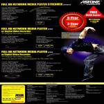 Astone Media Player Streamer AP110D V2 AP360 AP380 Specifications