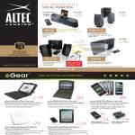 Altec Lansing EGear IPod IPhone Dock M302 BXR1321 VS2721 M650 IBluPadPro Folio Case Battery IWalk 3600 8200
