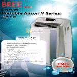 Bree Asia Portable Aircon V Series R410A Gas Air Conditioner