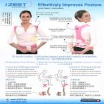 IZest Posture Vest Features Siting Postures