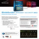 Bitdefender Internet Security 2012 Main Features Ratings Competition